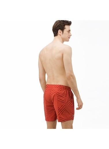 Lacoste Erkek  Mayoşort MH0907.07R Kırmızı